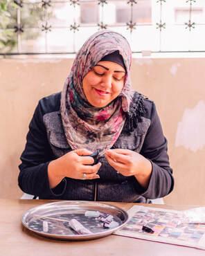 Jordanian artisan